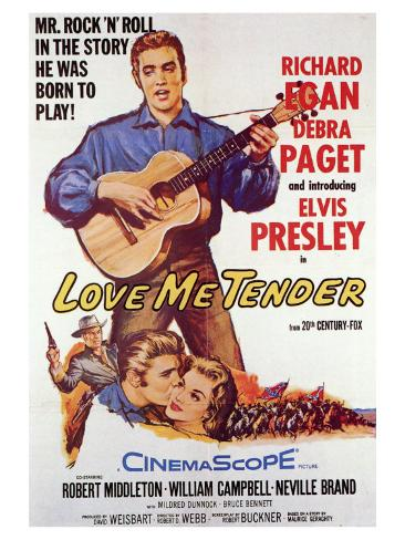 Love Me Tender, 1956 Art Print