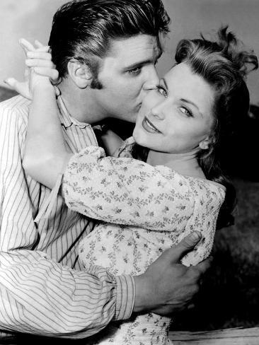 Love Me Tender, Elvis Presley, Debra Paget, 1956 Photo