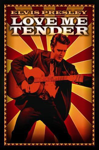 Love Me Tender Masterprint