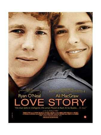 Love Story 1970 Fine-Exc. Orig.US 27x41 movie poster Ryan ...  Love Story 1970 Poster