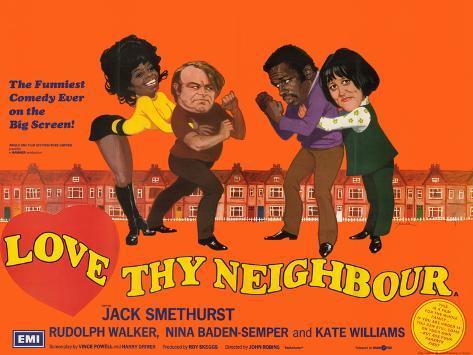 Love Thy Neighbour Art Print