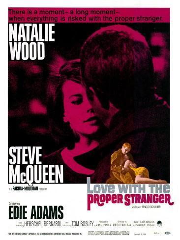 Love With the Proper Stranger, 1964 Stampa artistica