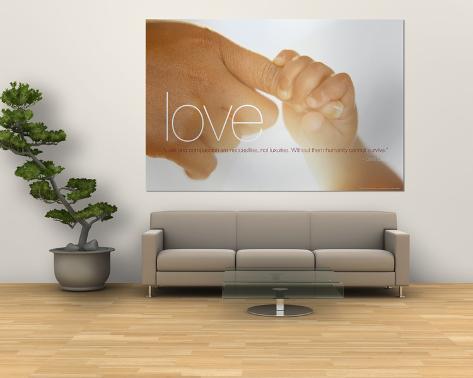 Love Giant Art Print