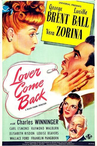 Lover Come Back Art Print