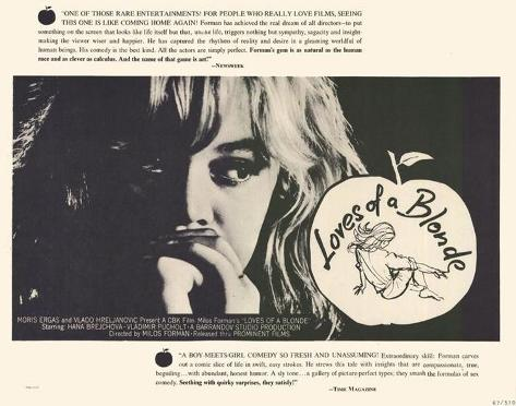 Loves of Blonde -  Style Poster