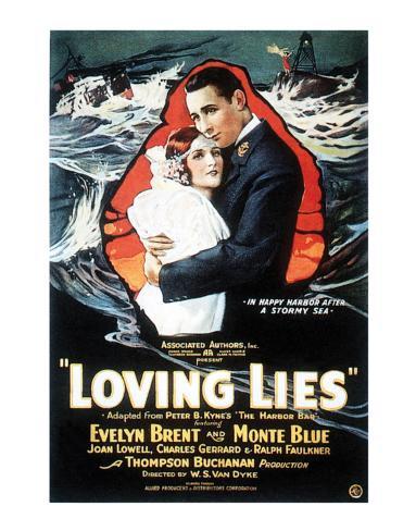 Loving Lies - 1924 Lámina giclée
