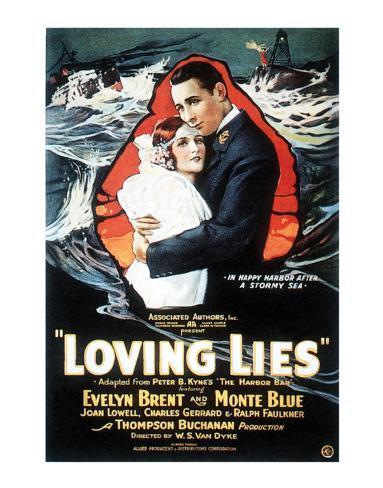 Loving Lies - 1924 Giclee Print