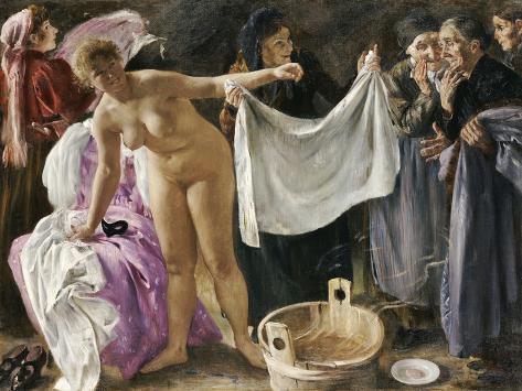 The Witches, 1897 Lámina giclée