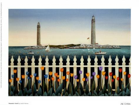 Thatcher Island Art Print