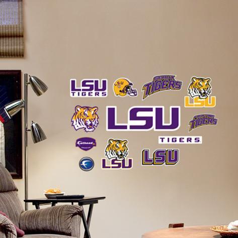 LSU - Fathead Junior Logosheet Wall Decal