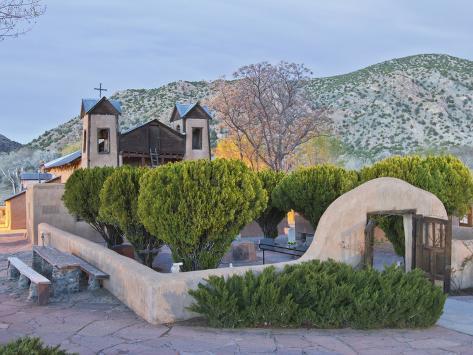 The Chimayo Sanctuary, Chimayo, New Mexico, USA Photographic Print