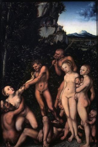 Fruits of Jealousy,' (The Silver Ag), 1530 Lámina giclée