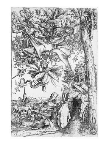 The Temptation of St. Anthony, 1506 Lámina giclée