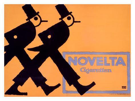 Novelta Cigaretten Giclee Print