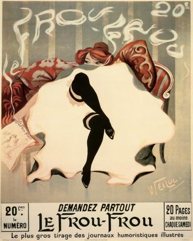 Le Frou - Frou Mini Poster