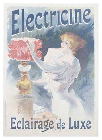 Electricine Giclee Print