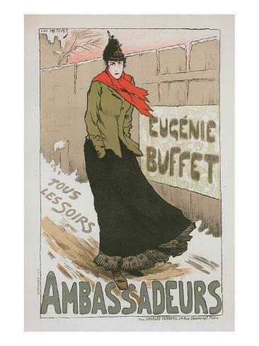 Eugénie Buffet - Ambassadeurs Stampa artistica