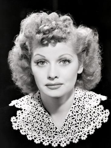 Lucille Ball Portrait, 1940's Photo