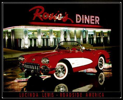 Rosie's Diner Tin Sign
