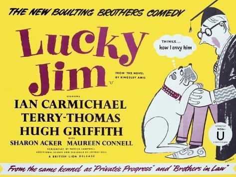 Lucky Jim Art Print