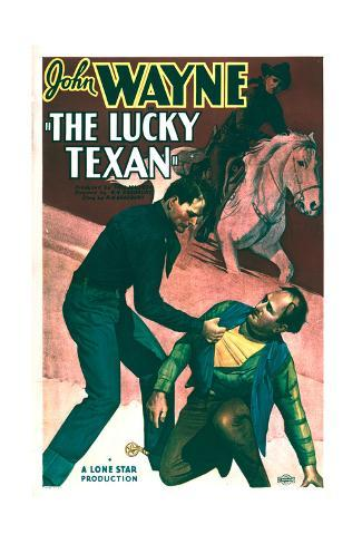 Lucky Texan - Movie Poster Reproduction Art Print