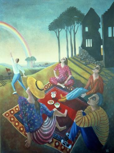 The Rainbow, 1990 Giclée-vedos