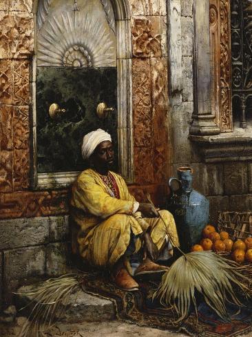 The Orange Seller Giclee Print