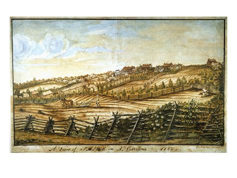 Farmer Plowing Giclee Print
