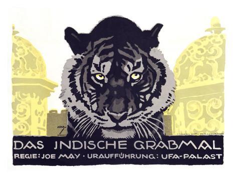 Das Indische Grabmal Impressão giclée