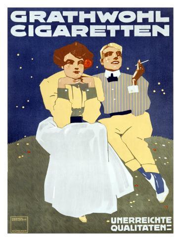 Grathwohl Cigaretten Giclee Print