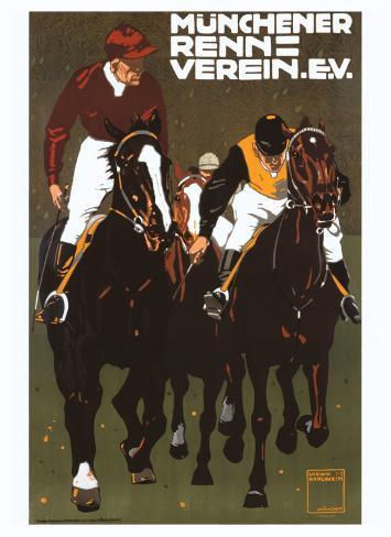 Munchener Renn Verein Giclee Print