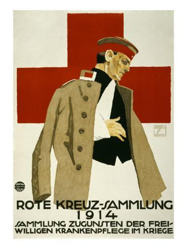 Red Cross Collection Drive, 1914 Art Print
