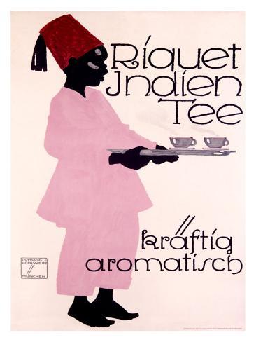 Riquet Indien Tee Giclee Print