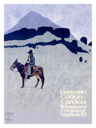 Wonalancet, Peruvian Cotton Giclee Print