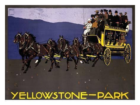 Yellowstone Park Giclee Print