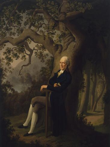 Portrait of German Philosopher Friedrich Heinrich Jacobi, Kellersee, Eutin, 1800 Giclee Print