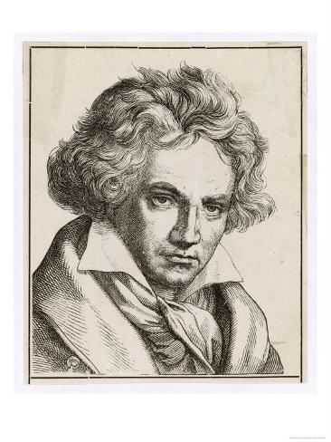 Ludwig Van Beethoven German Composer Giclee Print