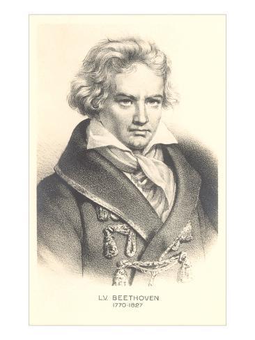 Ludwig Von Beethoven Art Print