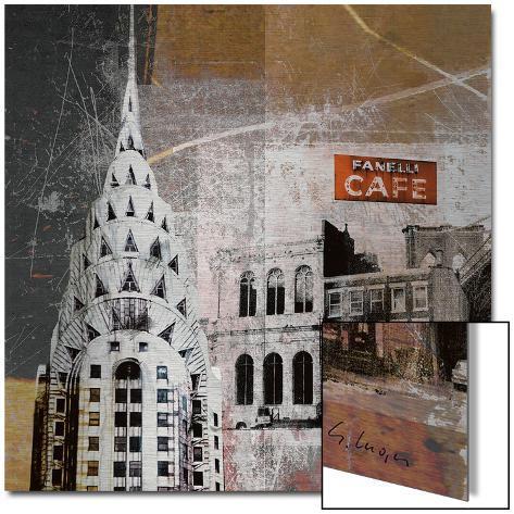 Fanelli Cafe Metal Print