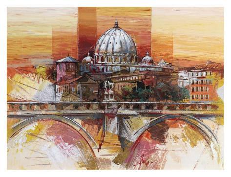 Roma eterna Art Print