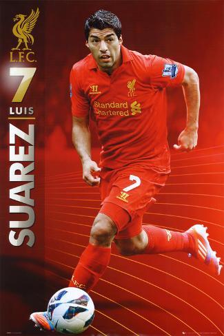 Luis Suarez - Liverpool FC Poster
