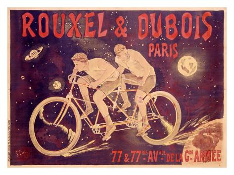 Rouxel and Dubois Giclee Print