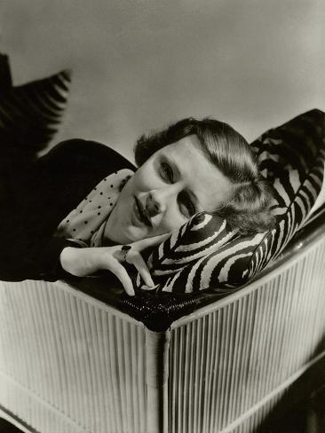 Vanity Fair - September 1933 Photographic Print