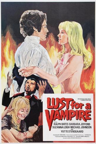 Lust for a Vampire, 1971 Art Print