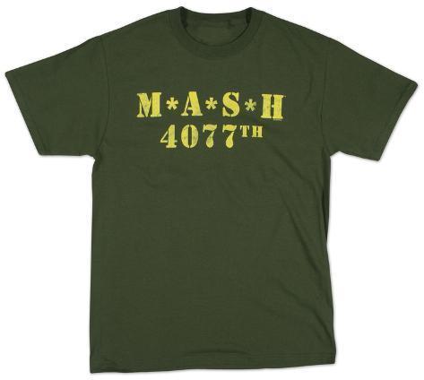 M.A.S.H. - Distressed Logo T-Shirt