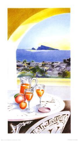 Tour Mediterraneen IV Art Print