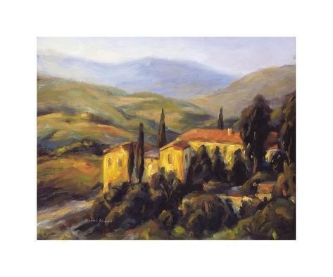 Distant Hills Giclee Print