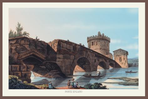 Ponte Lugano Wall Decal