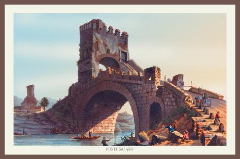 Ponte Salaro Wall Decal