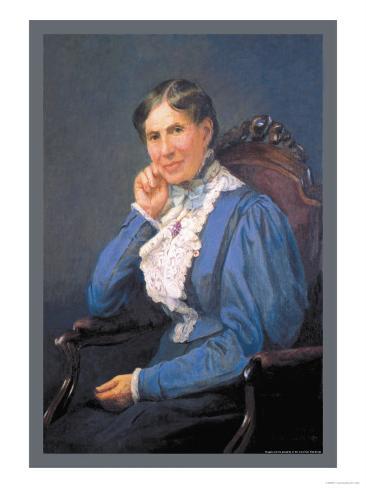 Clara Barton Art Print